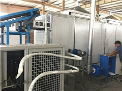 Continuous agricultural product drying equipment